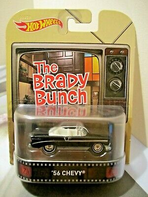 Hot Wheels Retro Entertainment The Brady Bunch '56 Chevy Convertible