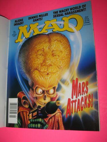 MAD MAGAZINE NO. 353 JANUARY 1997 MARS ATTACKS - DENNIS MILLER - ALIENS - NEW !