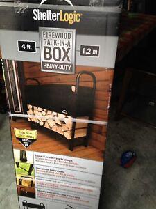 Firewood rack - still in box!