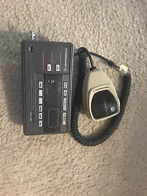 Motorola Mobile Radio Modem Gpde6085-10405 With Mic