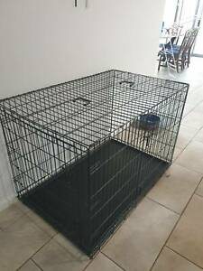 XXL DOG CRATE - NEAR NEW CONDITION
