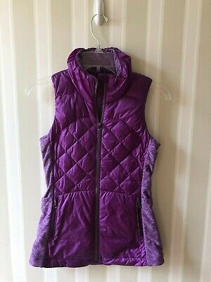 Lululemon Athletica Down For A Run Puffer Vest in Magenta Size 2