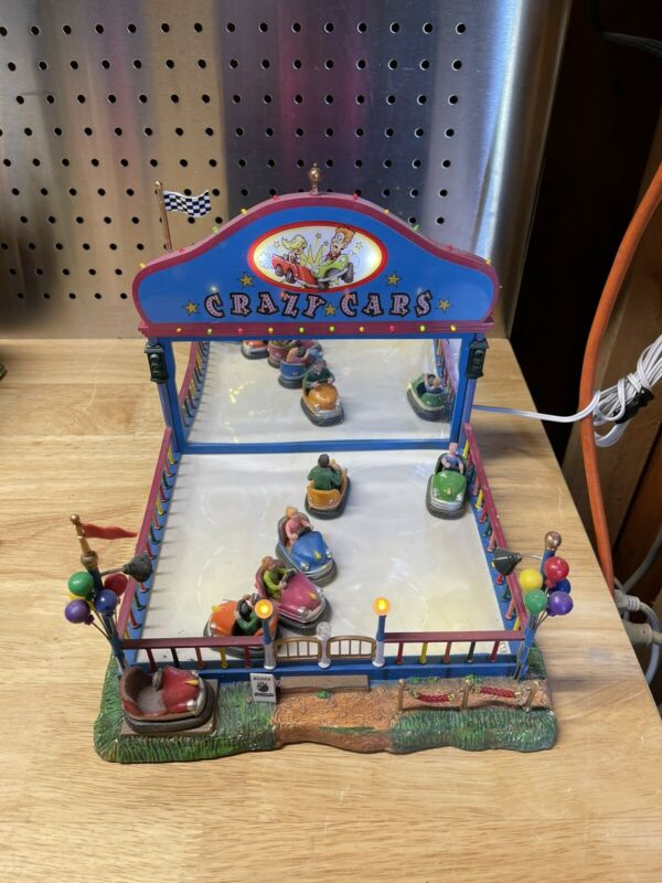 LEMAX Village Collection Crazy Cars - Model 64488 -