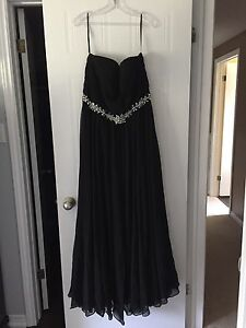 Classic evening gown