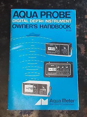 Aqua Probe Digital Depth Instrument Owner's Handbook ()