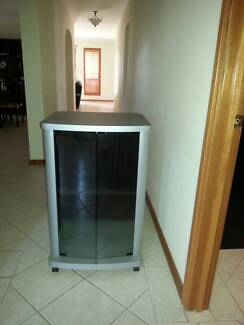 Entertainment Cabinet in Grey