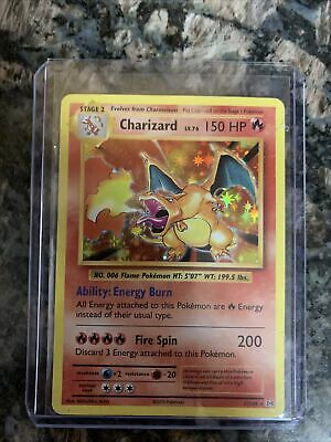 Pokemon Charizard XY Evolutions 11/108 Rare