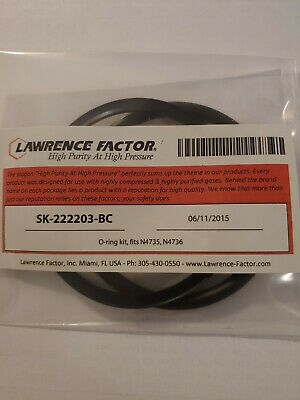 Bauer N4735 And N4736 O-ring And Back-up Ring Replacement Air Compressor