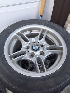 BMW rims with tires $280 or best offer!