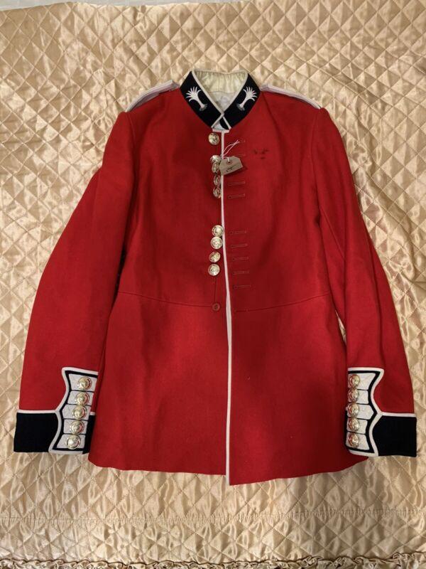 "British Welsh Guards Dress Uniform Tunic  size 42"" chest"