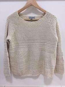 Just Jeans Cream Jumper, Size M Coorparoo Brisbane South East Preview