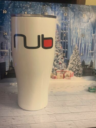 NUB Cigar 30oz Tumbler Glass Cup Mug with Lid FREE Hygrometer 30 Ounce Free Ship