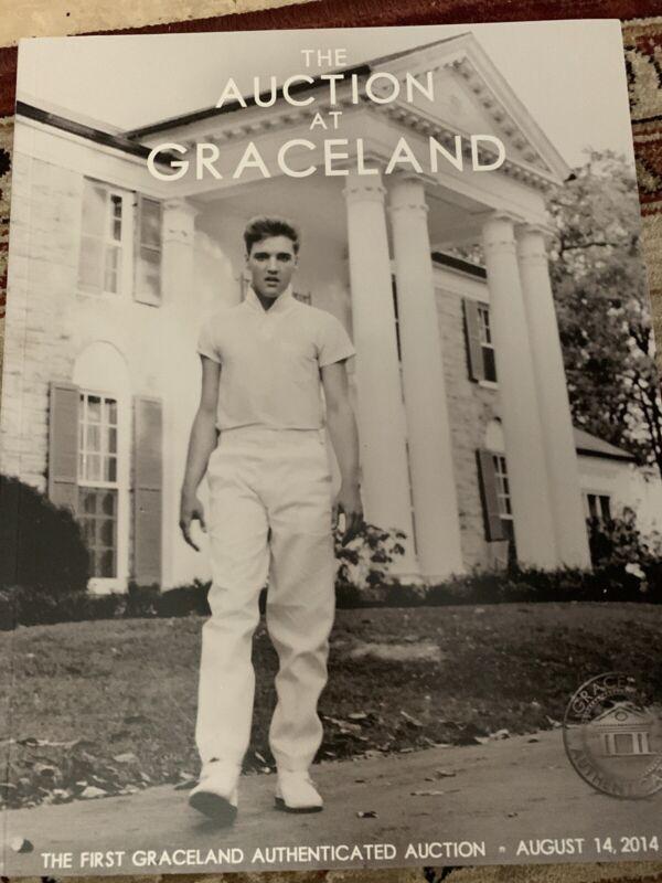 AUCTION ELVIS PRESLEY CATALOG Graceland 2014 Book
