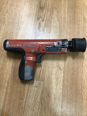 Hilti Dx35 Semi-auto Powder Actuated Nail Gun  As Is  Untested