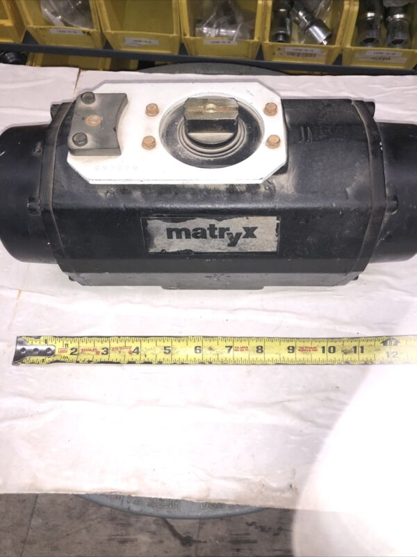 MATRY 120PSI 90-degree Pneumatic Valve Rotary Actuator Listing As Used?