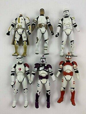Star Wars Clone Trooper Figure Lot - Clone Fodder Lot F