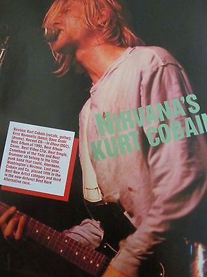 Kurt Cobain, Nirvana, Scott Weiland, Stone Temple Pilots, Double Full Page Pinup