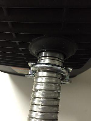 """Generac/Universal Generator 1"""" steel exhaust extension (5 foot)"""