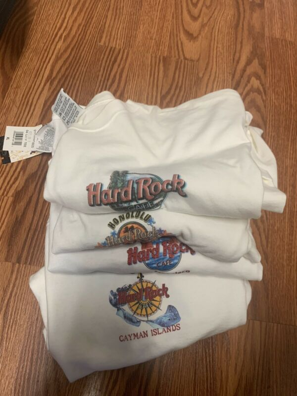 Lot of 4 Vintage Hard Rock Cafe T-Shirts