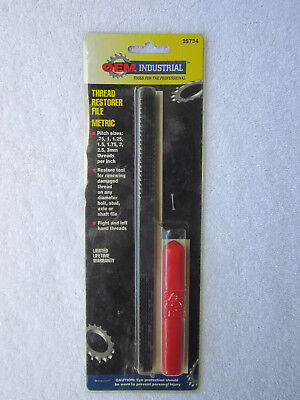 OEM Industrial - Thread Restorer File -Metric- (Part # 25734) **NEW**
