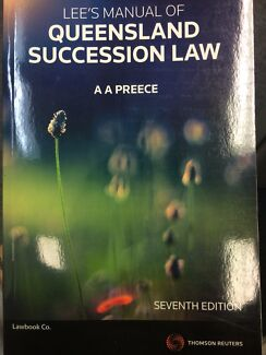 Queensland Succession Law - Near New