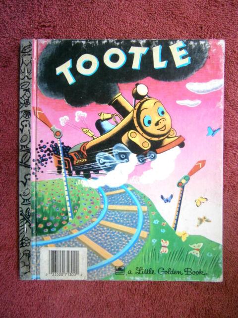 """A LITTLE  GOLDEN BOOK   'TOOTLE'  """" 210-54"""""""