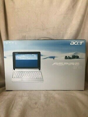 Acer Aspire One Laptop Model ZG5 Pink Open Box Never used