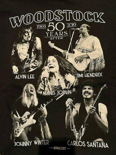 WOODSTOCK  1969..musicians T-SHIRTS.**NEW**Jimi Hendrix,Joplin, Carlos Santana