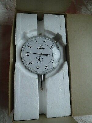 Mitutoyo Dial Indicator 3412 .001-.400 0-100 Japan In Original Box