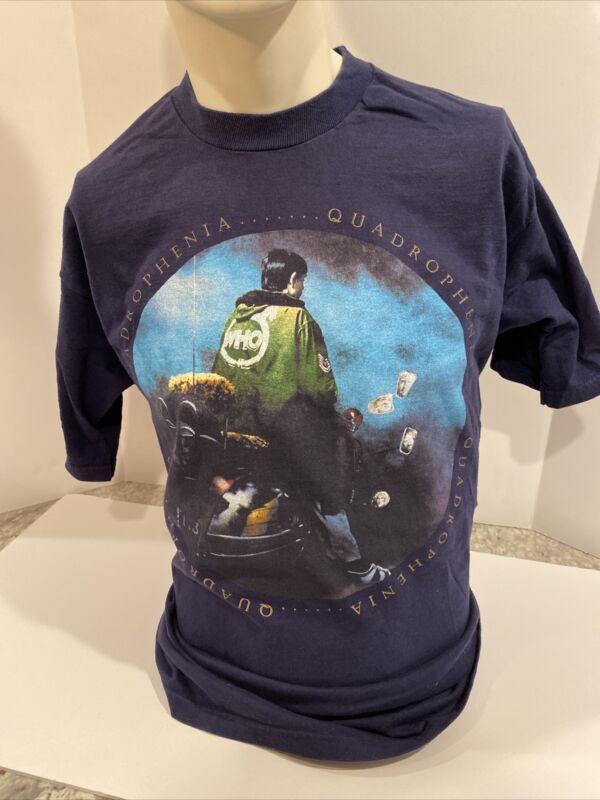 "Vintage The Who Concert Shirt 1997 Tour Quadrophenia XL Rare ""The Who"""