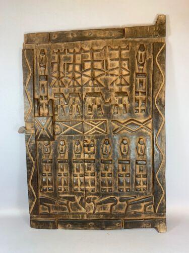 210322 - Old & Tribal used African Dogon Door - Mali.