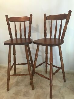 Timber Bar chairs
