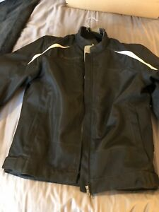 Scott motorcycle jacket w armoured back plate insert-size XL