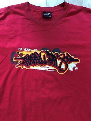 (Rare 90s VTG) TRIBAL GEAR Shirt XXL / Bboy Street Wear Break dance Nu Metal DJ