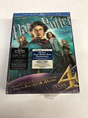 Harry Potter and the Goblet of Fire Ultimate Edition (Blu-ray, 2010) Scuffed comprar usado  Enviando para Brazil