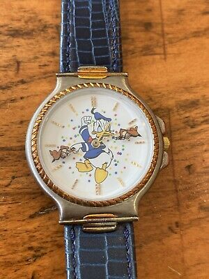 Disney Donald Duck limited vintage ingersoll watch rare wristwatch Watch New