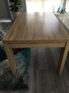 Timber Look Dining Table