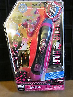 Monster High HAIR BEADER CREATE A FABULOUS LOOK BRAND NEW AND SEALED GREAT - Monster High Dolls Cost