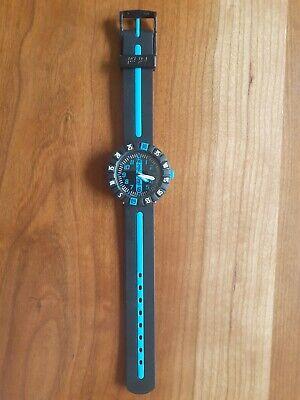 Flik Flak Boys Child's Watch, Plastic Blue, Black
