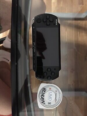 Sony PSP 3000 Playstation Portable Black  Bundle w charger and 4gb 2gbmemory car