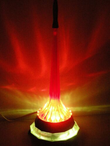 """Vintage Night Light Lamp """"Epoch"""" Rocket Launch Soviet Space Program USSR 1970"""