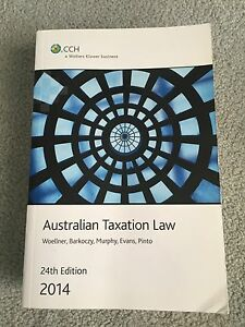 CCH Australian Taxation Law 24th ed 2014 Chandler Brisbane South East Preview