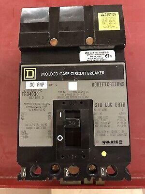 Square D I Line Circuit Breaker. 480 Volt, 30 Amp, 3 Pole + Free Shipping