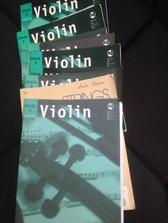 Violin learning books Ameb