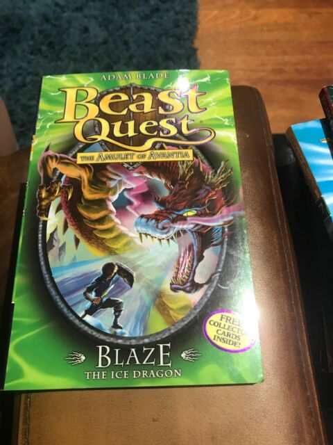 Beast Quest: Blaze the Ice Dragon: Series 4 Book 5