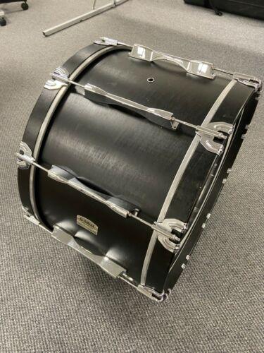 "Yamaha 14 x 24"" Field Corps Marching Bass Drum Black"