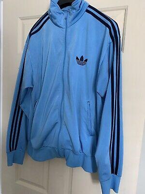 Adidas Light Blue Jacket Medium