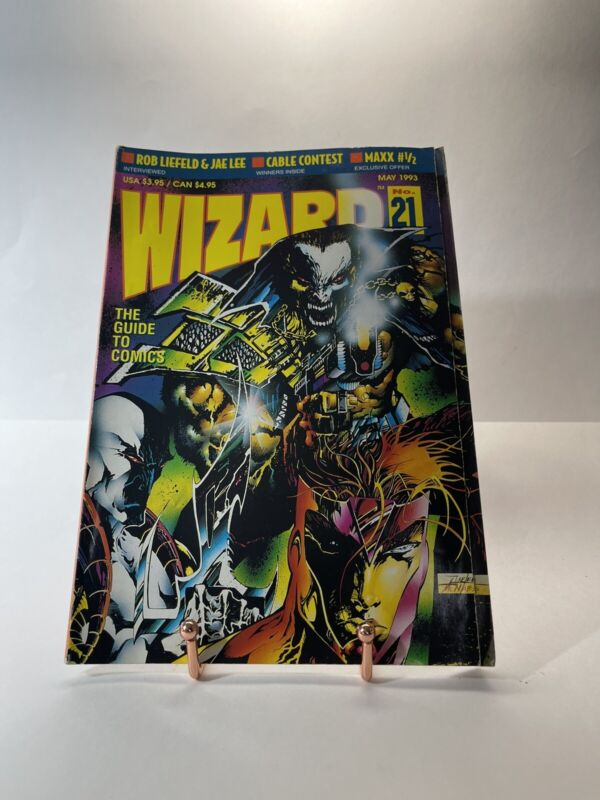 Wizard: The Guide to Comics May 1993 -Number 21 - With Youngblood Poster