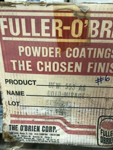 #6 Gold Mirage Powder Coating Paint - New 1LB