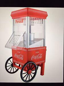 Coca Cola Hot Air Popcorn Maker